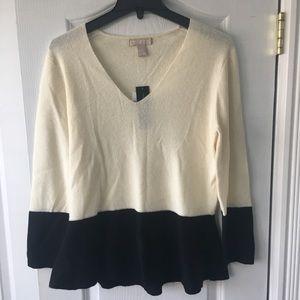BR Italian Yarn Sweater NWT